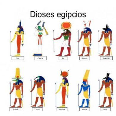 IMAGENES DE DIOSES EGIPCIOS