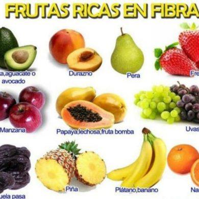 IMAGENES DE FRUTAS RICAS EN FIBRA